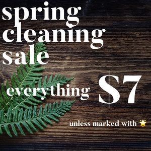 SPRING CLEANING SALE 🌿 MAKE ME AN OFFER